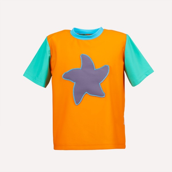 UV Schutz Shirt 50+ Orange